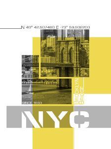 Brooklyn Bridge And Skyline by Melanie Viola