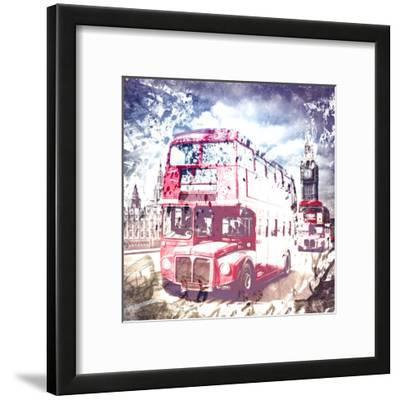 City Art London Red Busses