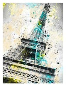City Art Paris Eiffel Tower IV by Melanie Viola