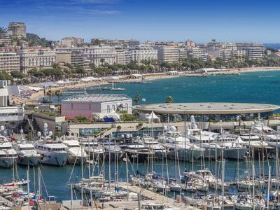 Cote Dazur Cannes Croisette