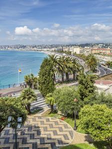 Cote Dazur Nice Promenade Des Anglais by Melanie Viola