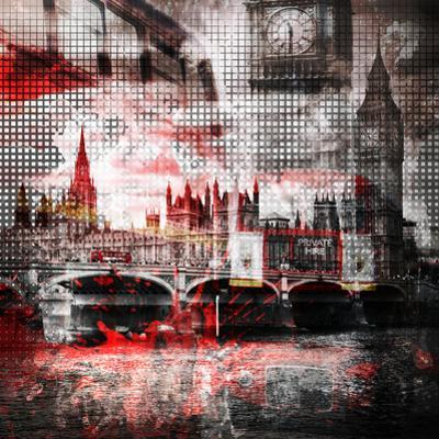 London Red Bus Composing by Melanie Viola