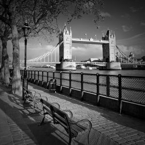 London Thames Riverside & Tower Bridge by Melanie Viola