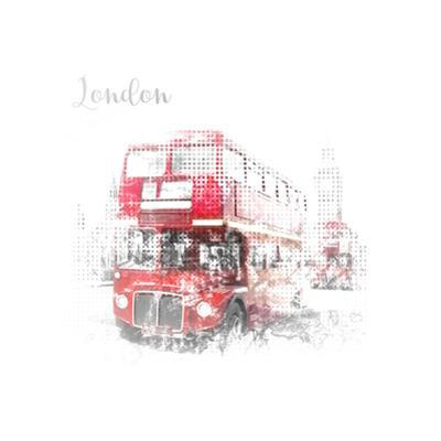 London Westminster Street Scene by Melanie Viola