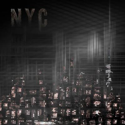 Modern Art New York City Skylines by Melanie Viola