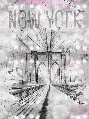 New York City Brooklyn Bridge by Melanie Viola
