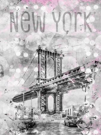 New York City Manhattan Bridge by Melanie Viola