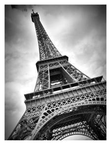 Paris Eiffel Tower Dynamic by Melanie Viola