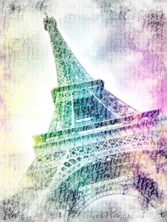 Paris Eiffel Tower by Melanie Viola