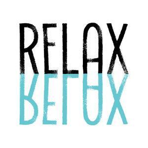 Relax Cyan by Melanie Viola
