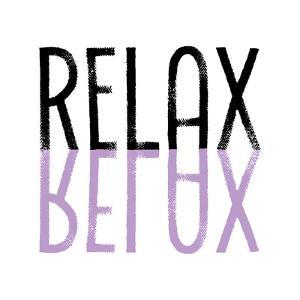 Relax Purple by Melanie Viola