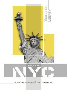 Statue Of Liberty by Melanie Viola