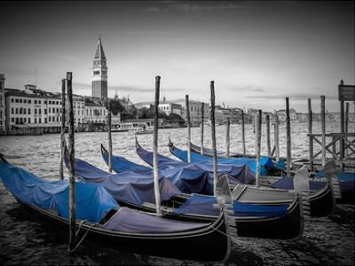 Venice Grand Canal & St Mark's Campanile II by Melanie Viola
