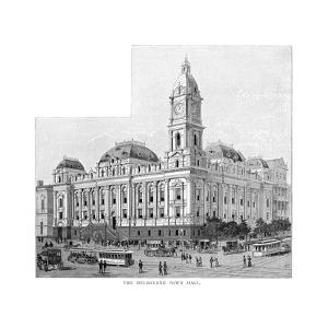Melbourne Town Hall, Victoria, Australia, 1886