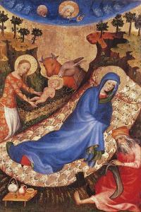 Nativity by Melchior Broederlam