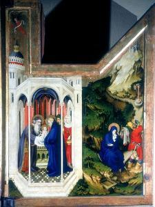 The Presentation at the Temple and the Flight into Egypt, 1394-1399 by Melchior Broederlam