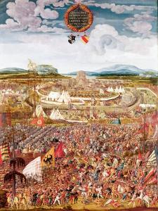 Alesia Besieged by Julius Caesar by Melchior Feselen