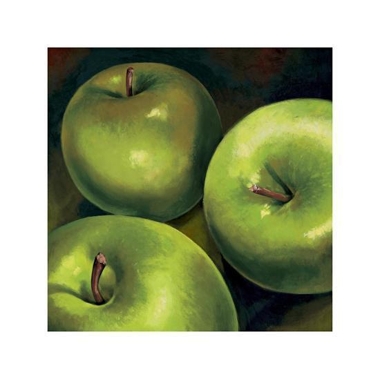 Mele verdi-Stefania Mottinelli-Giclee Print