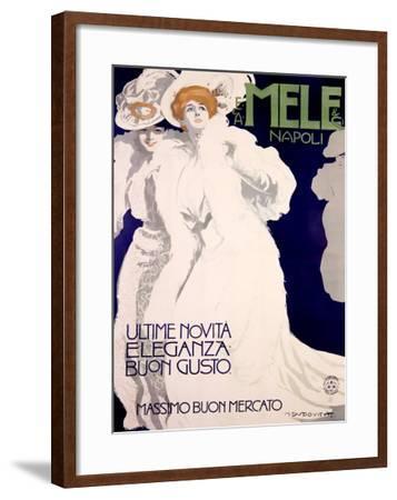 Mele-Marcello Dudovich-Framed Giclee Print