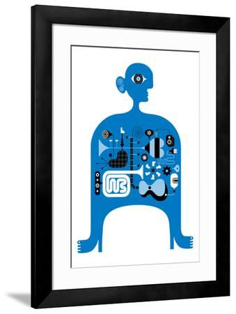 Blue Jazz by Melinda Beck