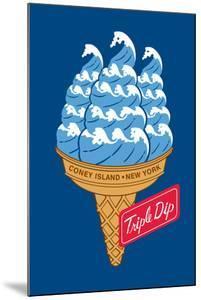 Coney Island Triple Dip by Melinda Beck