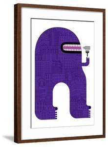 Purple People Eater by Melinda Beck