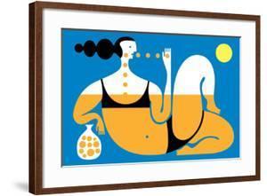 Sunbather by Melinda Beck