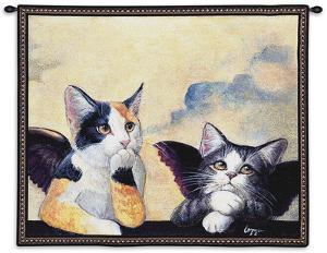 Cherub Cats by Melinda Copper