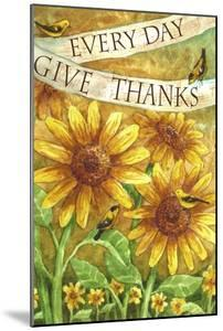 Sunflower Give Thanks Everyday by Melinda Hipsher