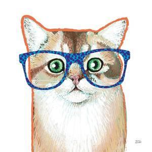 Bespectacled Pet II by Melissa Averinos