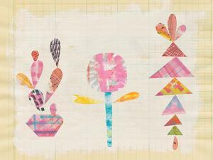 Collage Cactus IX by Melissa Averinos