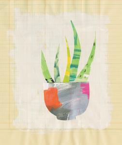 Collage Cactus VIII by Melissa Averinos
