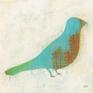 Flight Patterns Bird I by Melissa Averinos