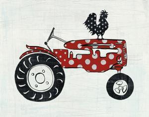 Modern Americana Farm V by Melissa Averinos