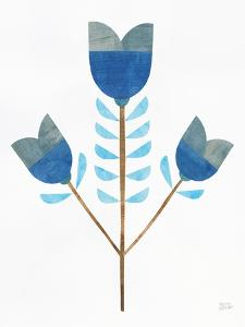 Retro Blooms I by Melissa Averinos