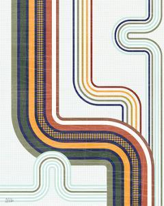Retro Subway II by Melissa Averinos