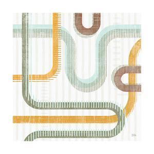 Subway Lines II by Melissa Averinos