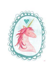 Unicorn Magic I with Border by Melissa Averinos