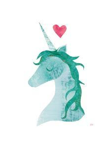 Unicorn Magic II Heart by Melissa Averinos