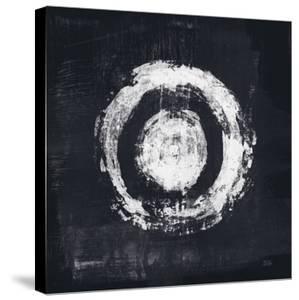 Zen Circle II Black Crop by Melissa Averinos