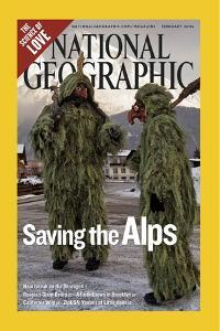 Alternate Cover of the February, 2006 National Geographic Magazine by Melissa Farlow