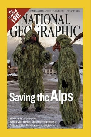 Alternate Cover of the February, 2006 National Geographic Magazine