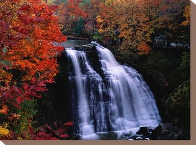 Brandywine Falls in the Cuyahoga National Recreation Area, Ohio
