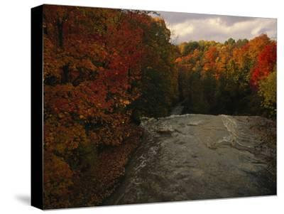 Cuyahoga River, as Seen from the Top of Brandywine Falls