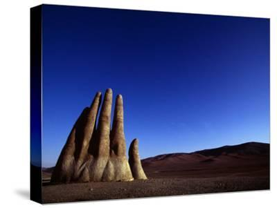 Giant Hand Sculpture Rises from the Sands of the Atacama Desert