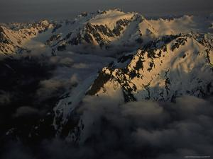 Mount Olympus and Its Sister Peaks by Melissa Farlow