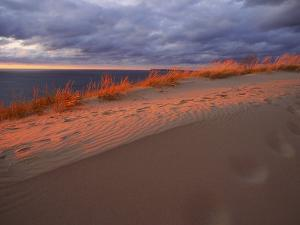 Scenic View of Sleeping Bear Dunes National Lakeshore by Melissa Farlow