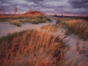 Sleeping Bear Dunes National Lakeshore is Located on the Northeast Side of Lake Michigan by Melissa Farlow