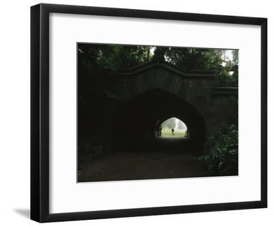 View Through Endale Arch Towards Prospect Parks Long Meadow
