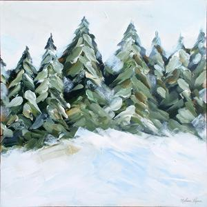 Winter Trees with Snow by Melissa Lyons